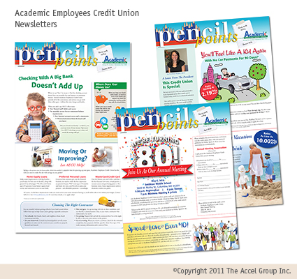 Academic Employees Credit Union newsletter